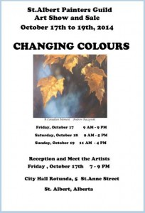 St. Albert Painter's Guild Fall Show and Sale 2014