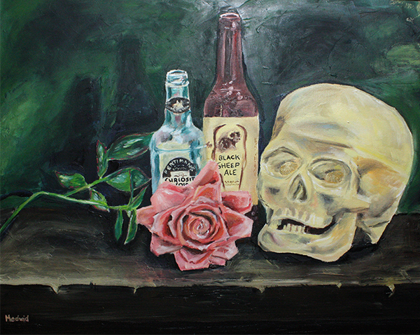 Skull and Rose